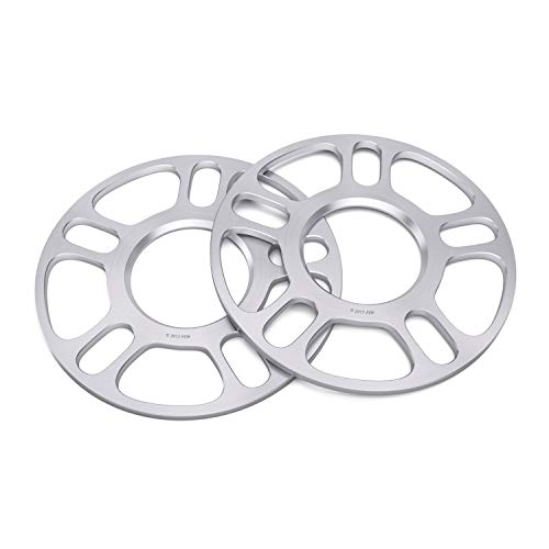 2pcs 3mm Hubcentric 5x100 and 5x112 Wheel Spacers (57.1 Bore) Works with Audi TT A3 A4 A6 A8 S4 S6 S8 Volkswagen Jetta Golf GTI R32 Corrado Beetle EOS CC Passat