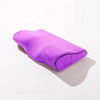 Coussin d'oreiller en mousse à mémoire de mousse Orthopédique Coussins de couchage en forme de papillon pour la protection...