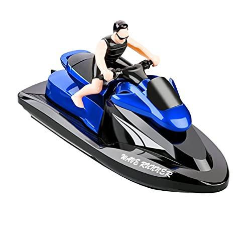 RC Boot Für Pools Und Seen RC Motorboot Schiff Für Kinder Erwachsene,3 Kanäle Kabelloses Elektrisches Motorboot 15km/h Hochwasser Wettbewerbsfähiges Schnellboot Jungen Mädchen Spielzeug Geschenke