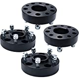 IRONTEK Jeep Hubcentric Wheel Spacers 1.5in Hubcentric Wheel Adapters 5x5/5x127mm (71.5mm Bore,1/2x20 Studs) Fits Jeep 99-10 Grand Cherokee WJ/WK, 07-18 Wrangler JK/JKU, 06-10 Commander XK