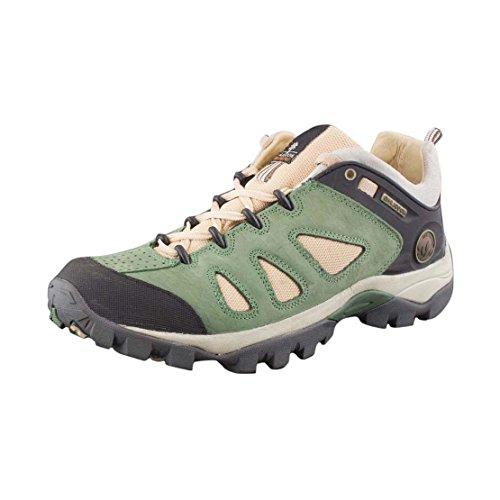 Woodland Men's Gc 1254113 Green Nubuck Leather Lace Up Shoes - 9 UK