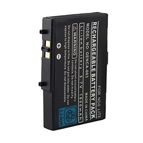 Batería de repuesto 3.7V 1800mAh con destornillador, compatible con la consola Nintendo DS Lite