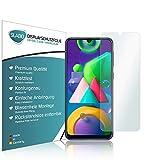 Slabo 4 x Bildschirmschutzfolie für Samsung Galaxy A20 (2019) | A30 (2019) | A30s | A40s | A50 (2019) | A50s | M30 | M30s Bildschirmfolie Schutzfolie Folie Zubehör Crystal Clear KLAR