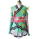 Love Live Kaguya No Shiro De Odoritai Angelic Angel Minami Kotori Kimono Uniform Dress Outfit Anime Cosplay Costumes (Female XL)