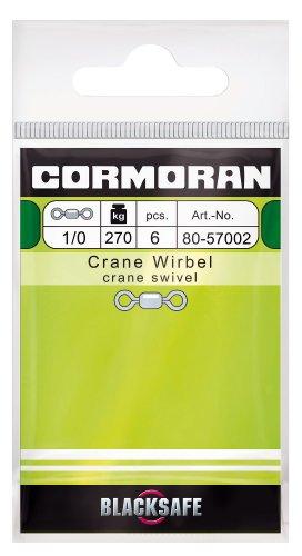 Cormoran Profiwirbel Stainless Steel schwarz Gr. 2