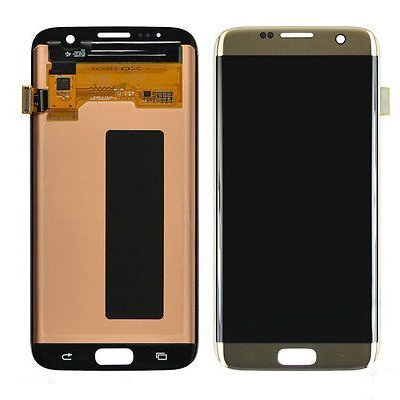 LCD display Digitizer Touch Screen Assembly For Samsung Galaxy S7 Edge G935A G935V G935P G935T G935F (Gold)