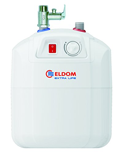 Eldom Warmwasserspeicher/Boiler 7L Untertisch druckfest