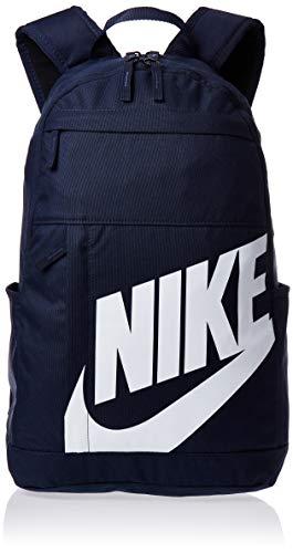 NIKE Nk Elmntl Bkpk - 2.0 Sports Backpack, Unisex adulto, Obsidian/Obsidian/(White), MISC