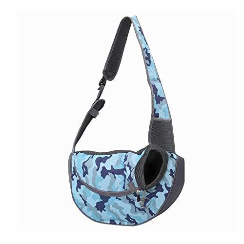 Drager van het Huisdier, met de hand Gratis Sling Verstelbare Padded Strap tas van stof, Outdoor Travel Bag Tote omkeerbaar, wasbaar in de machine, for reizen wandelen Camping (Color : C)