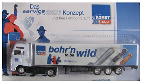 Komet Group Nr. - bohr´n to be wild - MAN - Sattelzug