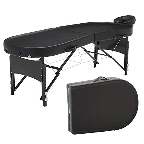 Lowest Price! Jdeepued Massage Table Portable Massage Table Lightweight Folding Facial SPA Bed Salon...