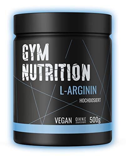 Premium L - Arginin HCL - Hochdosiert - Optimale Löslichkeit - Reines Pulver ohne Zusätze - Vegan - Laborgeprüft - Premium Arginine Aminosäure - Made in Germany