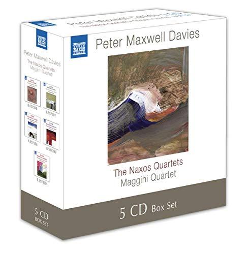 DAVIES: The Naxos Quartets (5 CD Box-Set)