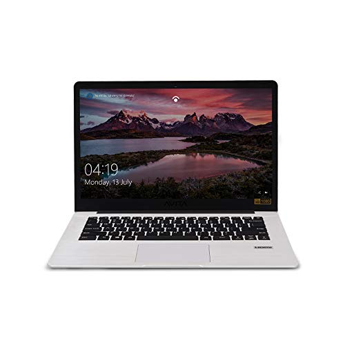 AVITA PURA NS14A6IND541-SWGYB 14-inch Laptop (AMD A9-9420E/8GB/256GB SSD/FHD Display/Windows 10 Home in S Mode/AMD Radeon R5 Graphics), Silky White with 3 in 1 Sleeve (Grey)