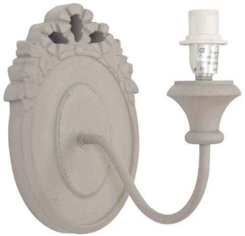 Clayre & Eef lampada da parete lampada da parete Beige 24x 25x 15cm