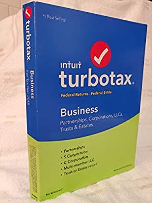 Turbotax 2018 Business Tax Software CD [PC Disc] [Old Version]