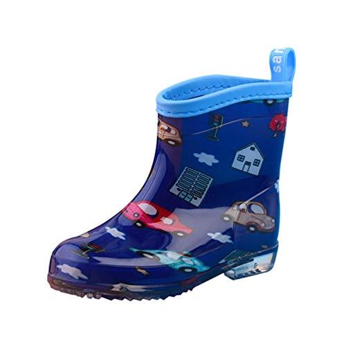 Tookang Bebé Niño Niña Ligero Bota de Lluvia Calzado Botas de Nieve...