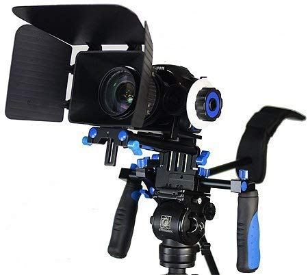 Morros DSLR Rig Movie Kit Shoulder Mount Rig with Follow