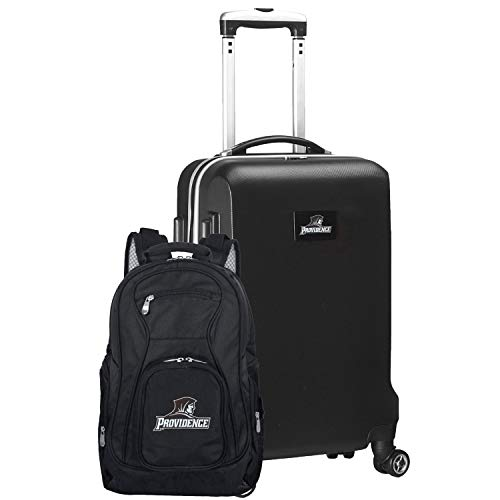 NCAA Providence Friars Deluxe 2-Piece Backpack & Carry-On Set, Black
