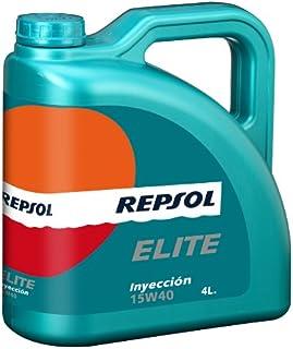 REPSOL ( レプソル ) エンジンオイル 【Inyeccion インジェクション】 15W40 SL/CF 鉱物油 4L 007054 [HTRC3]