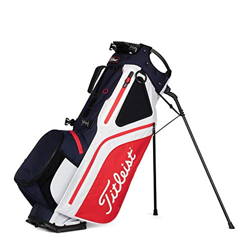 Titleist - Hybrid 5 Golf Bag - Navy/White/Red