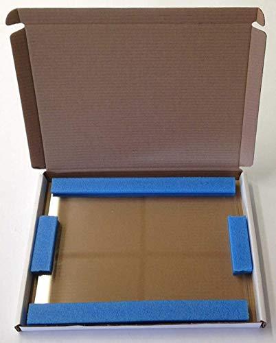 Stovax g272185272x 185mm Stockton 8Double Door Modell Ersatz HD Herd Glas–klar