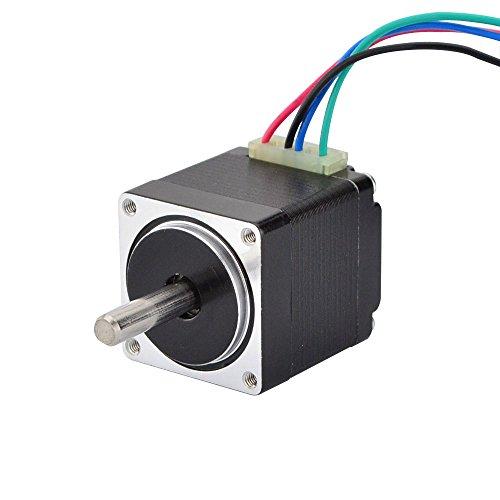 STEPPERONLINE Nema 11 Schrittmotor 6Ncm 0.67A Bipolar 1.8deg 28x31mm 4 Drähte für 3D DRUCKER/DIY CNC