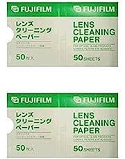 FUJIFILM レンズクリーニングペーパー LENS CLEANING PAPER 50 2個セット
