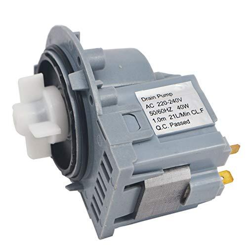 UTP 50245293001 Waschmaschinen-Ablaufpumpe für Asko, Philips, Samsung, Whirlpool, Kleenmaid