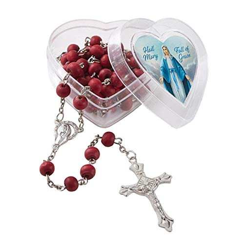 Rosario perfumado Nuestra Señora de la Gracia Rosa, 18 1/2 Pulgadas
