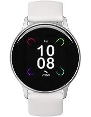 Smart Watch, UMIDIGI Uwatch 3S Fitness Tracker met Bloedzuurstofmeter en Hartslagmeter voor Dames en Heren. 5ATM Waterdichte Activity Tracker met Kompas voor iPhone Samsung en Android