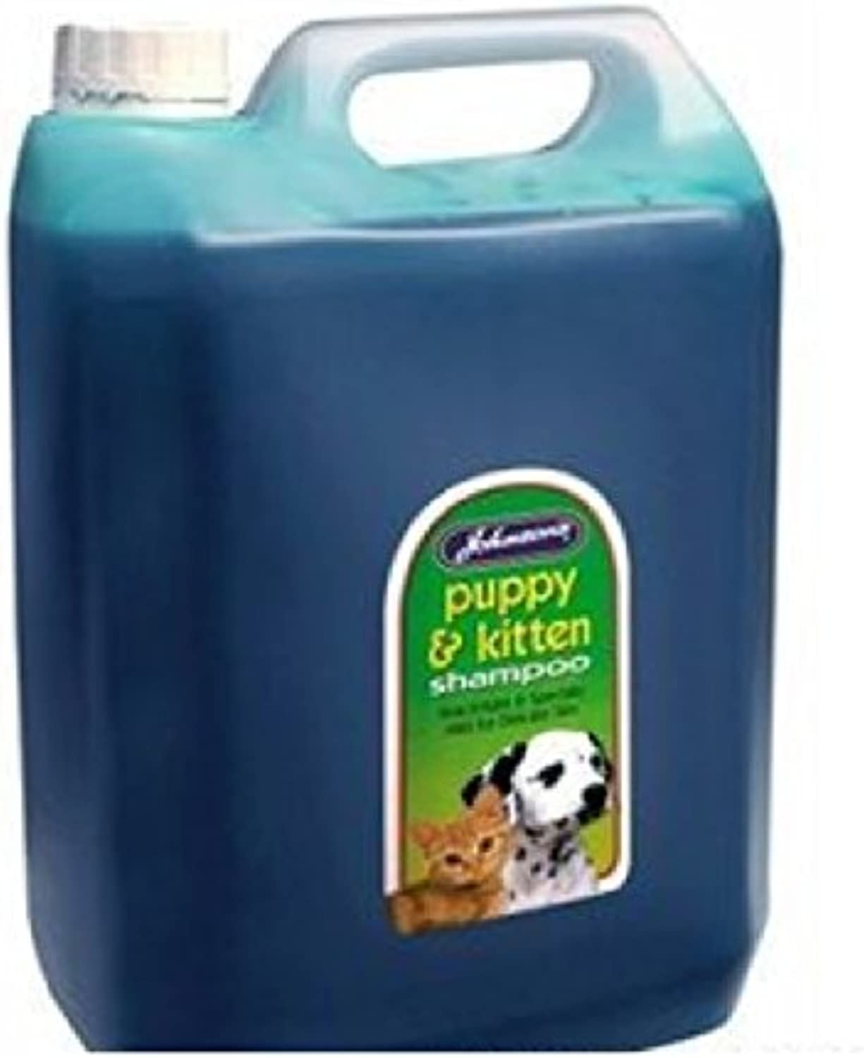 LEEWAY WOODWORK JOHNSONS PUPPY AND KITTEN SHAMPOO  5LT BULK CONTAINER  GROOMING  (2X 5 L CONTAINERS)