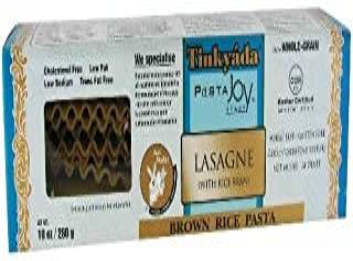 Tinkyada Organic Lasagna Brown Rice Pasta (3x10 oz.)