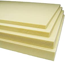 Fibre Glast 2-Pound Density Polyisocyanurate Foam Sheets - 1 Inches x 4 Feet x 2 Feet - Set of 3 - Easy Cut and Shape for Pattern-Making
