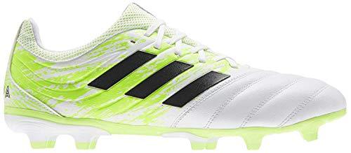 adidas Herren Copa 20.3 Fg Fussballschuh, FTWR White/Core Black/Signal Green, 42 EU