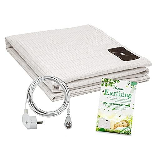 Erdungsmatte, Earthing Matte, erdungsmatte für Bett in EU-Norm (68*132 cm)