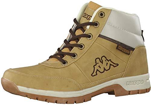 Kappa Bright Mid Light, Chaussures de Randonnée Hautes Homme, Beige (Beige 4141), 44 EU