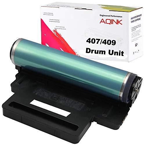 AQINK Remanufactured CLT-R407 Drum Unit Replacement for 407 409 Drum Unit for Use in CLT-P407C CLT-K407S CLT-Y407S CLP-320 CLP-321N CLP-325 CLP-326 CLX-3180 CLX-3185N (BCMY, 1- Pack)