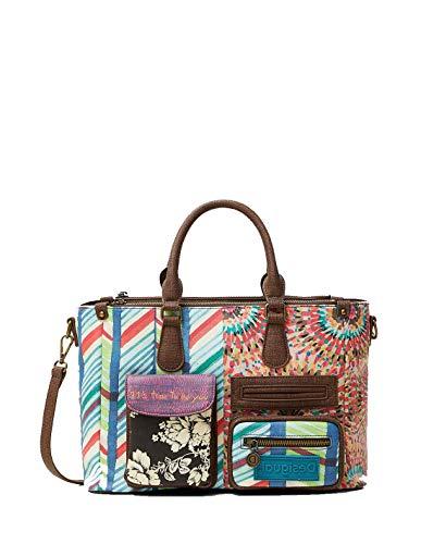 Desigual Bruselas Safi Handtaschen Damen Multicolor - Einheitsgrösse - Handtasche Bag