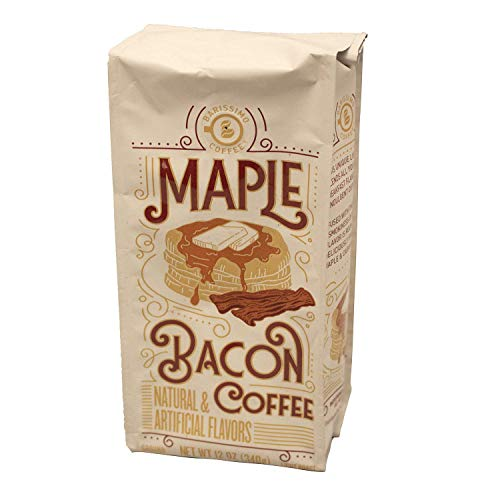 Barissimo Maple Bacon Coffee, Ground 12 Ounces