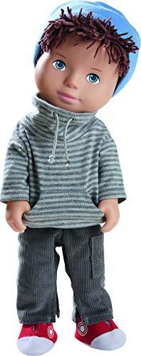 HABA 305584 - Spielpuppe Matti, HABA-Puppe mit weichem Körper, Gliedmaßen und Kopf aus Vinyl, 32 cm, Spielzeug ab 3 Jahren