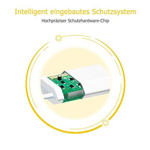 Everdigi USB Ladegerät Ladekabel 1M für Kabel schnell USB Datenkabel Netzteil Ladeset Ladeadapter für iPhone