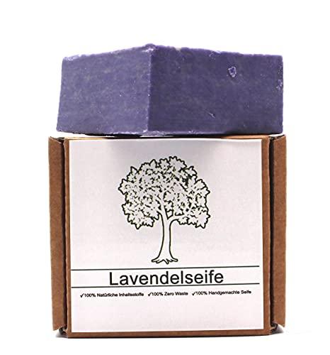 Lavendelseife, Premium, Naturseife, Handgemacht, Naturprodukt, Keine Chemikalien, empfohlen bei trockener Haut und Haar