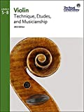 Violin Technique and Etudes Levels 5-8 - 2021 Edition