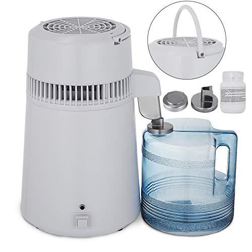 BestEquip Water Distiller All Stainless Steel Internal Distiller 4L Pure Water Distillation 750W