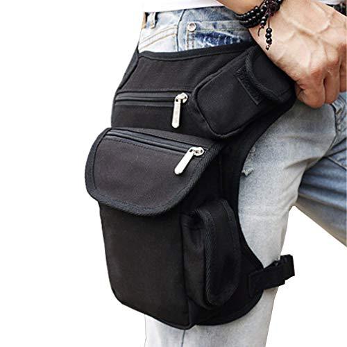 Hüfttasche aus Segeltuch für Herren und Damen, taktische Militär, Motorrad, Fahrrad,...