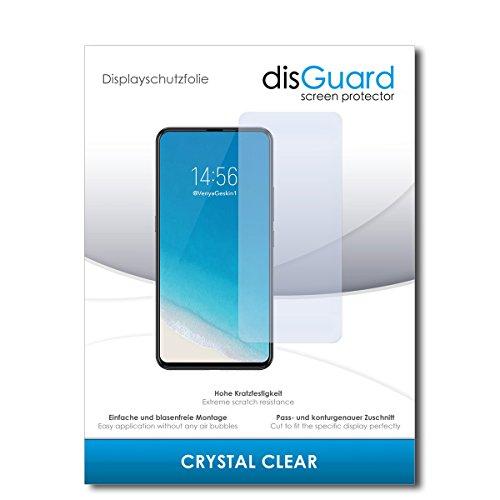 disGuard® Bildschirmschutzfolie [Crystal Clear] kompatibel mit Vivo NEX S [2 Stück] Kristallklar, Transparent, Unsichtbar, Extrem Kratzfest, Anti-Fingerabdruck - Panzerglas Folie, Schutzfolie