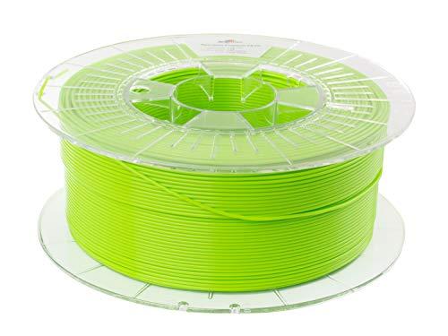 Spectrum PET-G Lime Green, 1.75mm, 1kg of premium PETG filament made in EU for desktop 3D printer