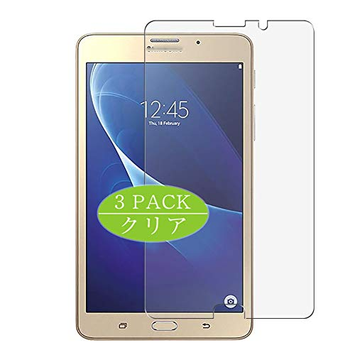 Vaxson 3-Pack Screen Protector, compatible with Galaxy J Max 2016 7', TPU Guard Film Protector [ NOT Tempered Glass Protectors ]