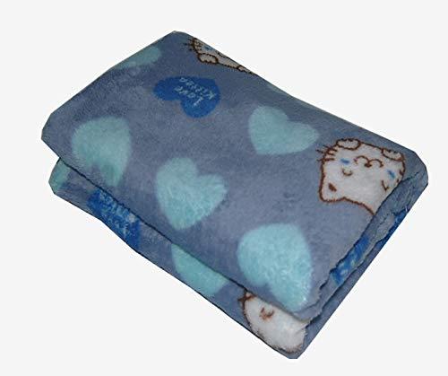 SOAI Manta lavable para perro, manta de felpa de lujo para mascotas medianas y grandes, cubierta de cama de gato cálida ultra gruesa, resistente a la abrasión y duradera almohadilla para cachorros